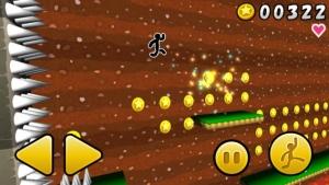 iPhone、iPadアプリ「ジャンプでコイン 3D」のスクリーンショット 3枚目