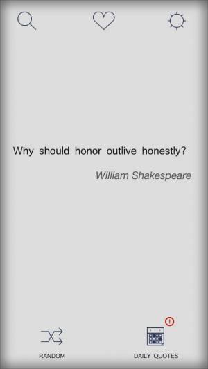 iPhone、iPadアプリ「Motivational quotes on everyday」のスクリーンショット 1枚目