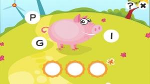 iPhone、iPadアプリ「ABC 農場 !子供のためのゲーム: 学ぶ 言葉や動物とアルファベットを書き込むことができます。無償、新しい、幼稚園、保育園、学校のために、学習!」のスクリーンショット 3枚目