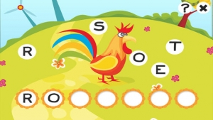 iPhone、iPadアプリ「ABC 農場 !子供のためのゲーム: 学ぶ 言葉や動物とアルファベットを書き込むことができます。無償、新しい、幼稚園、保育園、学校のために、学習!」のスクリーンショット 5枚目