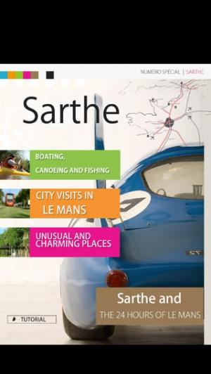 iPhone、iPadアプリ「Sarthe」のスクリーンショット 1枚目