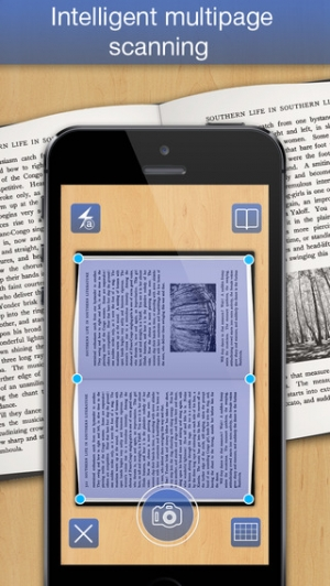iPhone、iPadアプリ「PDF Scanner - easily scan books and multipage documents to PDF」のスクリーンショット 2枚目