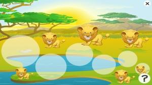 iPhone、iPadアプリ「アクティブ! サファリ約子供のためのゲーム: 学び、遊ぶ 動物との」のスクリーンショット 4枚目
