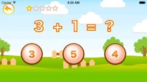 iPhone、iPadアプリ「算数であそぼう! はじめての足し算・引き算」のスクリーンショット 3枚目