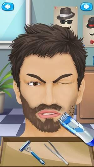 iPhone、iPadアプリ「ひげサロン - 美容変身」のスクリーンショット 2枚目