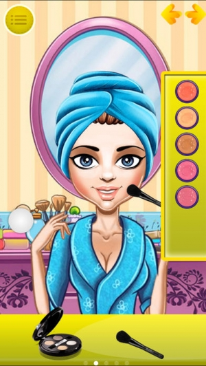 iPhone、iPadアプリ「Real Makeover & Spa & Dress up free games」のスクリーンショット 2枚目