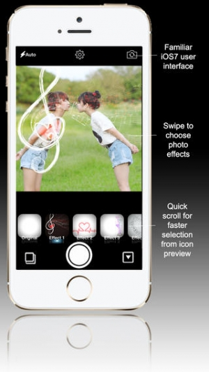 iPhone、iPadアプリ「Fotocam Love Pro - Photo Effect for Instagram」のスクリーンショット 2枚目