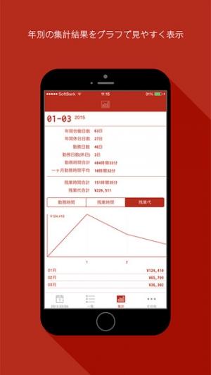 iPhone、iPadアプリ「RedCardApp」のスクリーンショット 5枚目