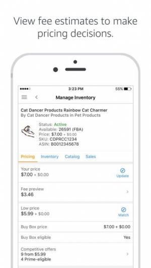 iPhone、iPadアプリ「Amazon Seller」のスクリーンショット 4枚目