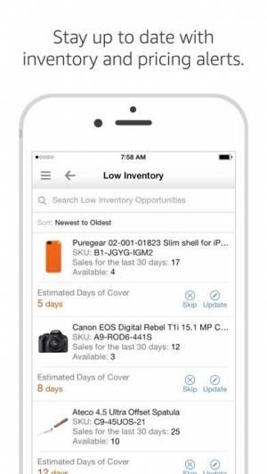 iPhone、iPadアプリ「Amazon Seller」のスクリーンショット 5枚目