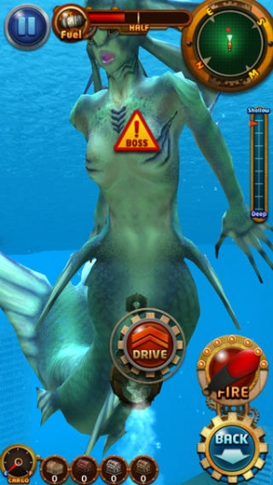 iPhone、iPadアプリ「DIVE ~The Mystery Of Abyss~」のスクリーンショット 5枚目