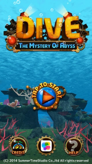 iPhone、iPadアプリ「DIVE ~The Mystery Of Abyss~」のスクリーンショット 1枚目