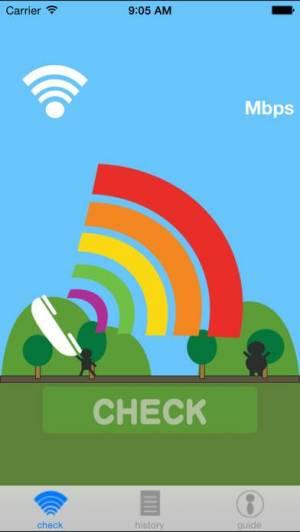 iPhone、iPadアプリ「回線.Check」のスクリーンショット 1枚目