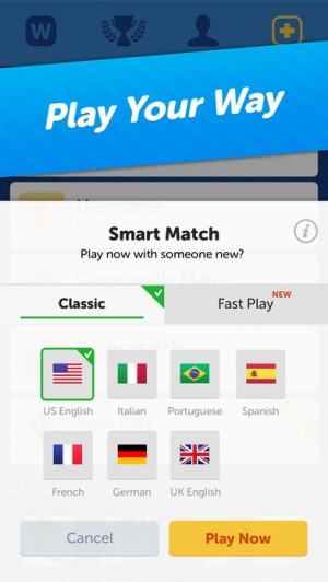 iPhone、iPadアプリ「Words With Friends – Word Game」のスクリーンショット 4枚目