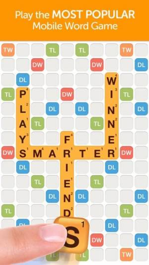 iPhone、iPadアプリ「Words With Friends – Word Game」のスクリーンショット 1枚目
