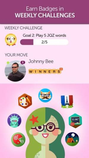 iPhone、iPadアプリ「Words With Friends – Word Game」のスクリーンショット 2枚目