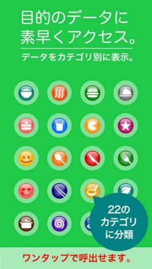 iPhone、iPadアプリ「カロリーノート/ダイエット管理(体重・食事・運動・生活習慣)」のスクリーンショット 2枚目