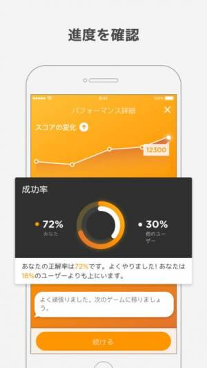 iPhone、iPadアプリ「PEAK(ピーク)- 脳トレ」のスクリーンショット 5枚目