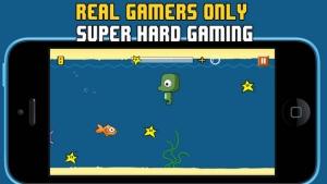 iPhone、iPadアプリ「Floppy Splashy Fish - Underwater Flappy Adventure」のスクリーンショット 2枚目
