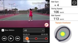 iPhone、iPadアプリ「Smart Tennis Sensor」のスクリーンショット 2枚目