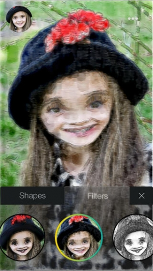 iPhone、iPadアプリ「ToonifyMe - Free Caricatures from Seflies」のスクリーンショット 1枚目