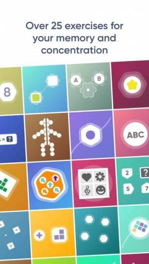 iPhone、iPadアプリ「NeuroNation - Memory Games」のスクリーンショット 1枚目