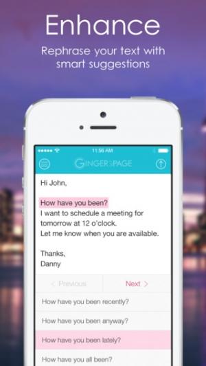 iPhone、iPadアプリ「Ginger 辞書 | 英語辞書 | 英文法」のスクリーンショット 3枚目