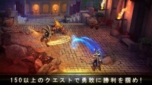 iPhone、iPadアプリ「ブラッド&グローリー:不滅の戦士」のスクリーンショット 2枚目