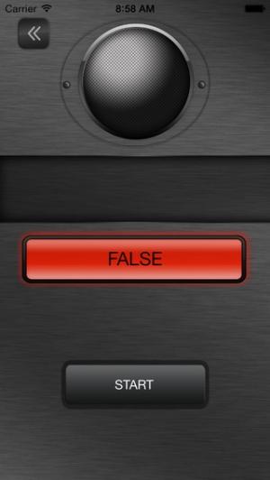 iPhone、iPadアプリ「音声嘘発見器」のスクリーンショット 4枚目