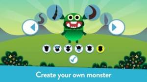 iPhone、iPadアプリ「Teach Your Monster to Read」のスクリーンショット 1枚目
