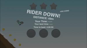 iPhone、iPadアプリ「Down the hill」のスクリーンショット 3枚目