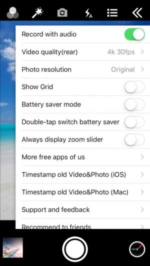 iPhone、iPadアプリ「タイムスタンプカメラ (Timestamp Camera Pro)」のスクリーンショット 4枚目