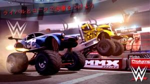 iPhone、iPadアプリ「MMX Racing Featuring WWE」のスクリーンショット 1枚目
