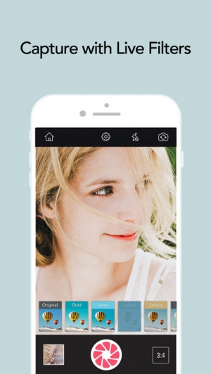 iPhone、iPadアプリ「POMELO – Absolute Filters」のスクリーンショット 1枚目
