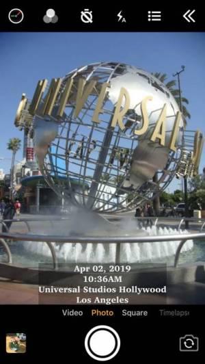 iPhone、iPadアプリ「タイムスタンプカメラ (Timestamp Camera)」のスクリーンショット 2枚目
