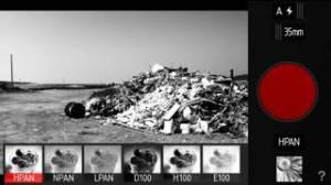 iPhone、iPadアプリ「Provoke Camera」のスクリーンショット 1枚目