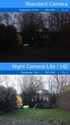 iPhone、iPadアプリ「夜カメラ: 低い光の写真」のスクリーンショット 2枚目