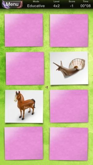 iPhone、iPadアプリ「Memo 2 • The Premium Card Matching Game」のスクリーンショット 2枚目