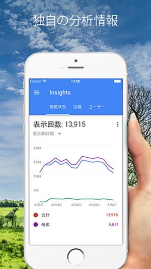 iPhone、iPadアプリ「Googleマイビジネス」のスクリーンショット 4枚目