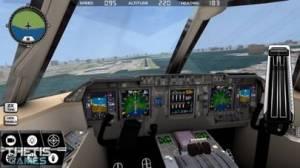 iPhone、iPadアプリ「Flight Simulator FlyWings 2014」のスクリーンショット 2枚目
