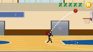 iPhone、iPadアプリ「バスケがしたいです2」のスクリーンショット 2枚目
