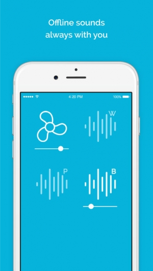 iPhone、iPadアプリ「Noisli」のスクリーンショット 5枚目