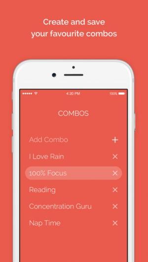 iPhone、iPadアプリ「Noisli」のスクリーンショット 4枚目
