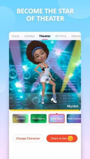 iPhone、iPadアプリ「Myidol · 3D Avatar Creator」のスクリーンショット 3枚目