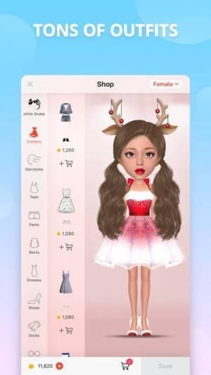 iPhone、iPadアプリ「Myidol · 3D Avatar Creator」のスクリーンショット 4枚目