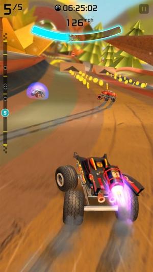 iPhone、iPadアプリ「Rocket Cars」のスクリーンショット 2枚目