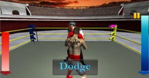 iPhone、iPadアプリ「BOXING WITH ZOMBIE 3D」のスクリーンショット 1枚目