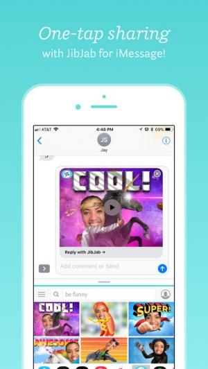 iPhone、iPadアプリ「JibJab」のスクリーンショット 5枚目