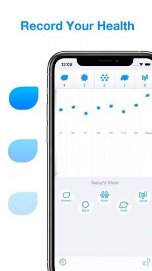 iPhone、iPadアプリ「Lavatory Log - お通じは美容と健康の基本」のスクリーンショット 1枚目