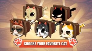 iPhone、iPadアプリ「Kitty in the Box」のスクリーンショット 4枚目